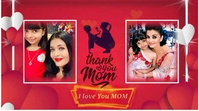 Thank you Mom Template / Mothers Day Gif