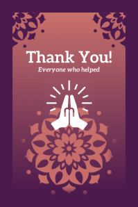Thank You on Covid-19 Template