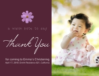Online greeting card templates postermywall thank you online greeting card template m4hsunfo