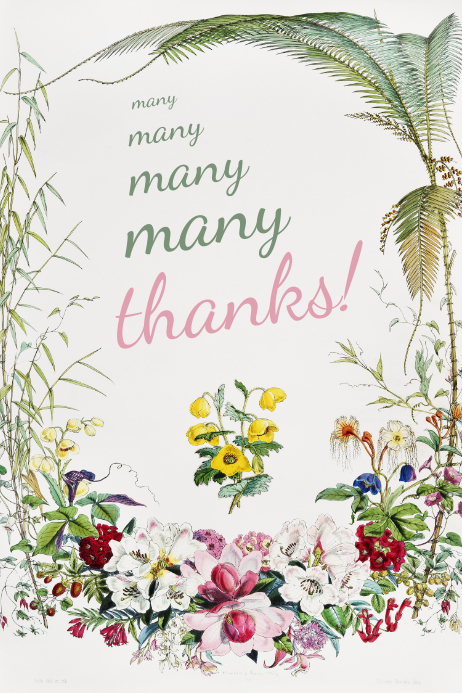 graphic relating to Thank You Printable named Thank By yourself Printable Card Template PosterMyWall