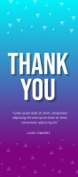 thank you RACK card template