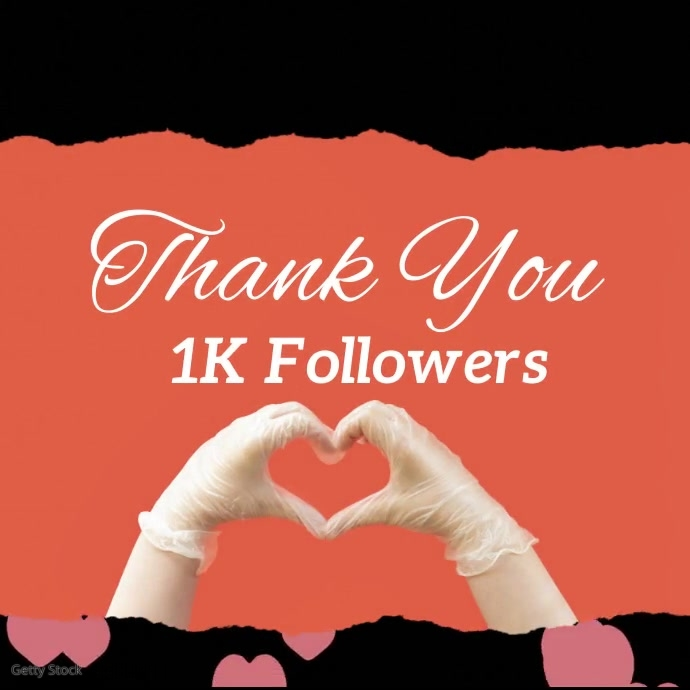 Thank You Social Media Followers Video Ad Instagram-opslag template