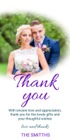 THANK YOU TEMPLATE Roll-up-Banner 3 x 6 Zoll