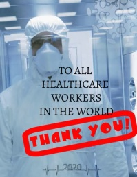 Thank_you_healthcare Flyer (US Letter) template