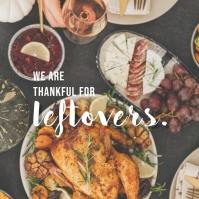 Thankful Posts Instagram 帖子 template