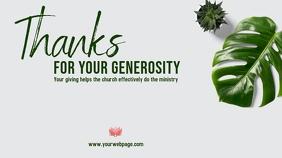 Thanks for giving Umbukiso Wedijithali (16:9) template