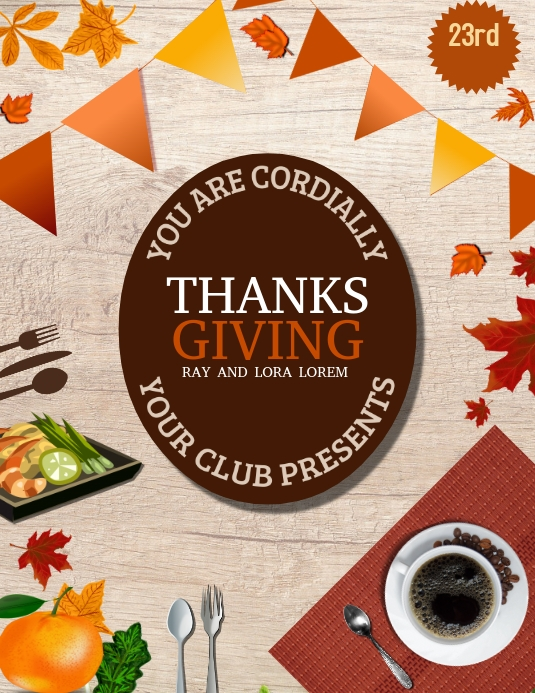 thanks giving flyers,event flyer,autumn