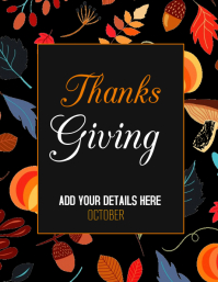 Thanks giving flyers,event flyers,partyflyer