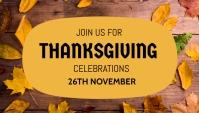 Thanksgiving, event,autumn Koptekst blog template