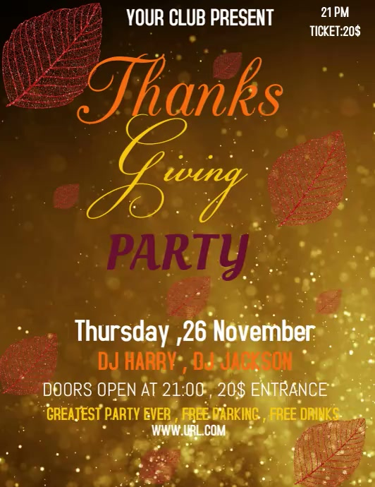 Thanksgiving , thanksgiving party , eventa
