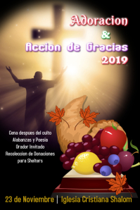 Thanksgiving/accion de gracias/iglesia/church