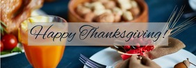 Thanksgiving banner Баннер Tumblr template
