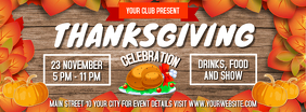 Thanksgiving Celebration Facebook Cover Photo