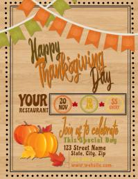 Thanksgiving Celebration Restaurant Event