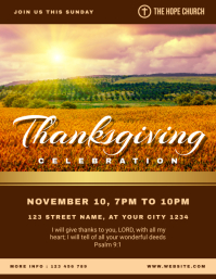 Thanksgiving church celebration