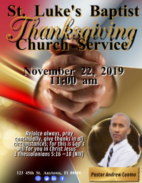 Thanksgiving Church Service