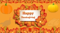 Thanksgiving Day Digitale Vertoning (16:9) template