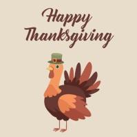 thanksgiving Instagram-Beitrag template