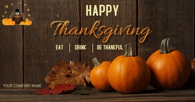 Thanksgiving Facebook Shared Image template