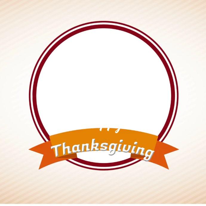 thanksgiving Instagram-opslag template