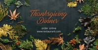 Thanksgiving dinner Sampul Acara Facebook template