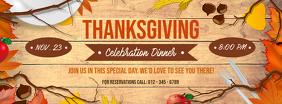 Thanksgiving Dinner Facebook Cover Photo