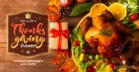 Thanksgiving Dinner Facebook Post template