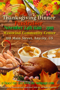 Thanksgiving Dinner Fundraiser