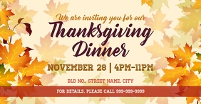 Thanksgiving dinner invite