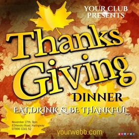 Thanksgiving Dinner Template