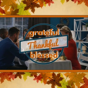 Thanksgiving dinner video