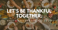 thanksgiving facebook ad Facebook-annonce template