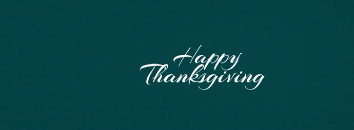 Thanksgiving Fall Leaves Facebook Banner template