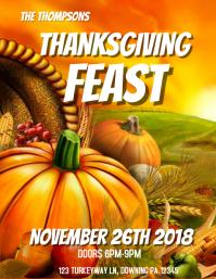 thanksgiving feast dinner