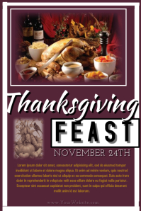 Thanksgiving Feast Flyer
