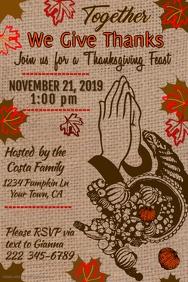 Thanksgiving Feast Template