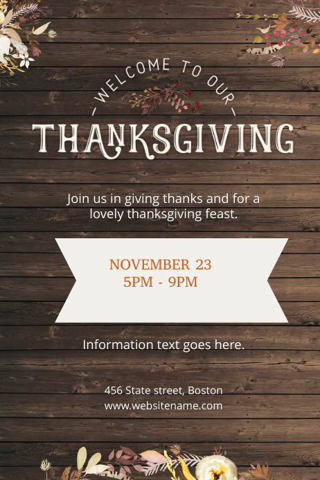 Thanksgiving Feast Poster