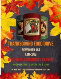 Thanksgiving Food Drive Template