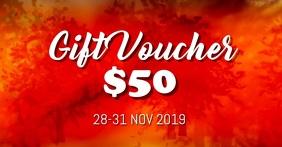 Thanksgiving gift voucher