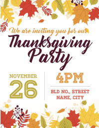 820 customizable design templates for thanksgiving poster