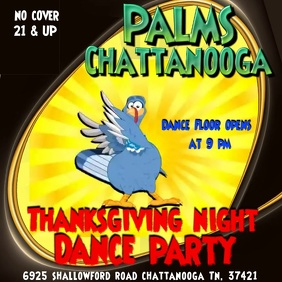 Thanksgiving night Dance Party