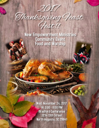 Thanksgiving Flyer
