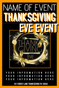16 600 customizable design templates for thanksgiving party