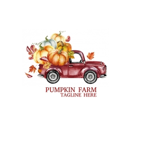 Thanksgiving Pumpkin Farm Logo