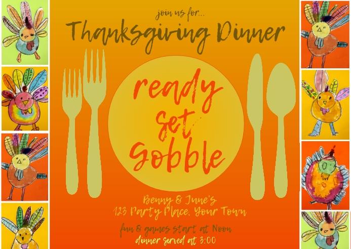 Thanksgiving - Ready Set Gobble