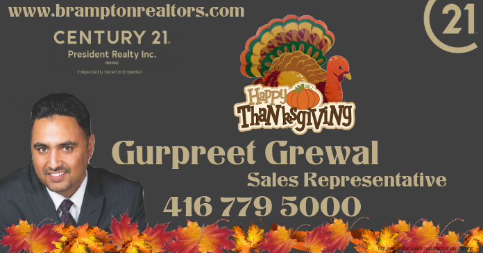 thanksgiving real estate Facebook 共享图片 template