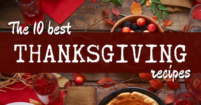 Thanksgiving Recipes Facebook post