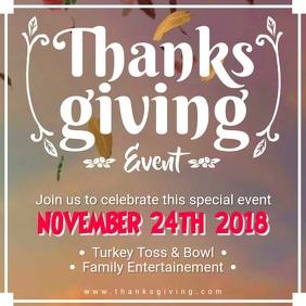 Thanksgiving Restaurant Offer Video Ad