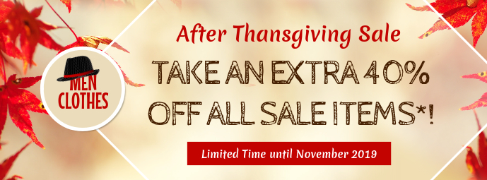 Thanksgiving Sale Beige Facebook Cover Photo template