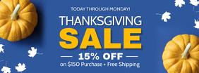 Thanksgiving Sale Facebook Cover Photo